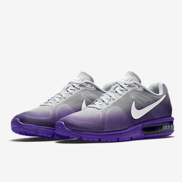nike shoes air max sequent purple ombre sz 8 womens poshmark rh poshmark com